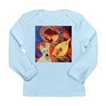 Mandolin / Scottie (w) Long Sleeve Infant T-Shirt