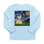 Starry Night / Scottie (w) Long Sleeve Infant T-Sh