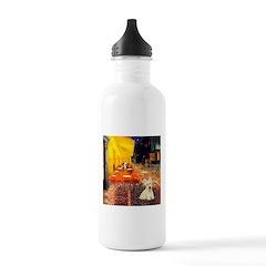 Cafe / Scottie (w) Water Bottle