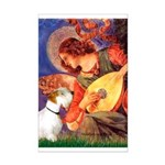 Angel/Sealyham L1 Mini Poster Print