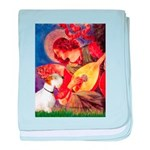 Angel/Sealyham L1 baby blanket