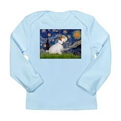 Starry Night/Sealyham L1 Long Sleeve Infant T-Shir