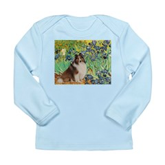 Irises / Sheltie Long Sleeve Infant T-Shirt