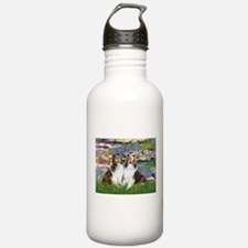 Lilies #2 / Two Shelties Water Bottle