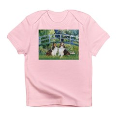 Bridge / Two Shelties (D&L) Infant T-Shirt