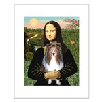 Mona Lisa's Sheltie (S) Small Poster