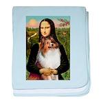 Mona's Sable Sheltie baby blanket