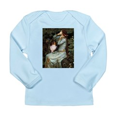 Ophelia / Shelie tri Long Sleeve Infant T-Shirt
