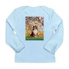 Spring / Sheltie (#1) Long Sleeve Infant T-Shirt