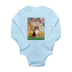Spring / Sheltie (#1) Long Sleeve Infant Bodysuit