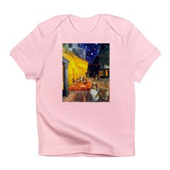 Cafe / Sheltie Infant T-Shirt