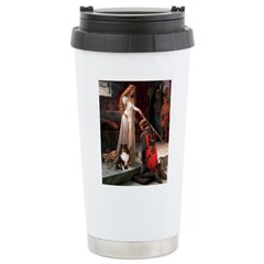 Accolade / Sheltie tri Travel Mug