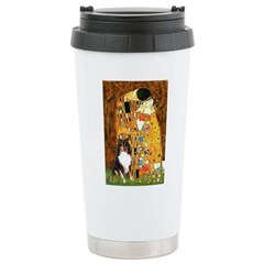 Kiss/Tri Color Sheltie Travel Mug