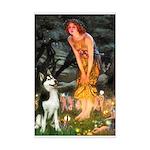 Mid.Eve / Siberian Husky Mini Poster Print
