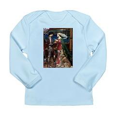 Tristan & Isolde Husky Long Sleeve Infant T-Shirt