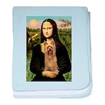 Mona Lisa / Silky T baby blanket