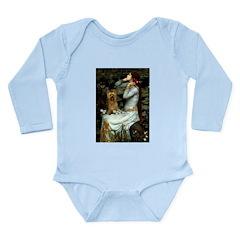 Ophelia / Silky T Long Sleeve Infant Bodysuit
