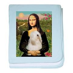 Mona / Tibetan T baby blanket