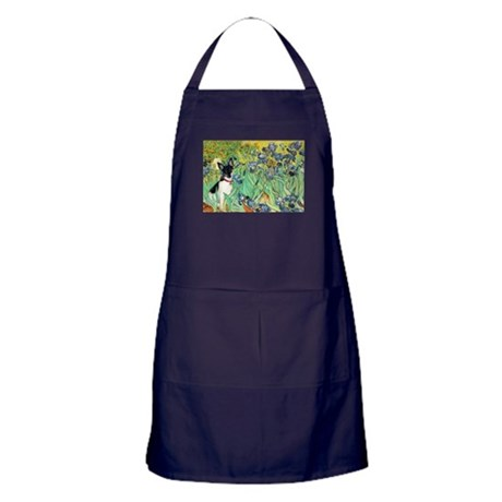 Irises / Toy Fox T Apron (dark)