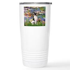 Lilies / Toy Fox T Travel Coffee Mug