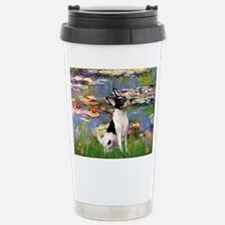 Lilies / Toy Fox T Travel Mug