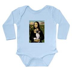 Mona / Toy Fox T Long Sleeve Infant Bodysuit