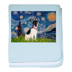 Starry / Toy Fox T baby blanket