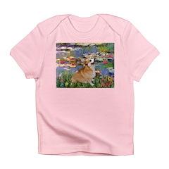 Lilies (2) & Corgi Infant T-Shirt