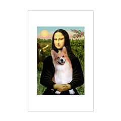 Mona Lisa / Welsh Corgi(p) Posters