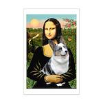 Mona's Corgi (Bl.M) Mini Poster Print