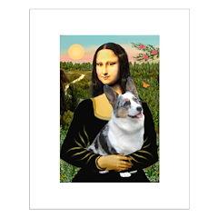 Mona's Corgi (Bl.M) Posters