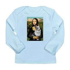 Mona's Corgi (Bl.M) Long Sleeve Infant T-Shirt