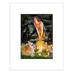 Fairies & Corgi Small Poster