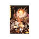 Queen / Welsh Corgi Mini Poster Print