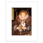 The Queen's Corgi Small Poster