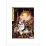 The Queen's Corgi (Bl.M) Small Poster
