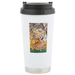 Spring / Corgi Travel Mug