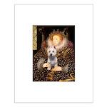 Queen Liz & Her Westie Small Poster