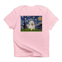 Starry Night/Westie Infant T-Shirt