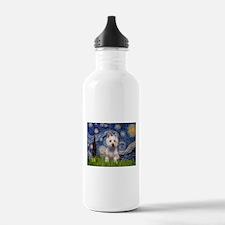 Starry - Westie (P) Water Bottle