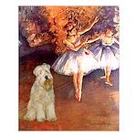 Dancer1/Wheaten T (7) Small Poster