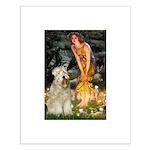 Fairies & Wheaten Terrier Small Poster