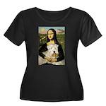 Mona's Wheaten Women's Plus Size Scoop Neck Dark T