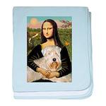 Mona's Wheaten baby blanket