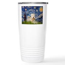Starry / Wheaten T #1 Travel Coffee Mug
