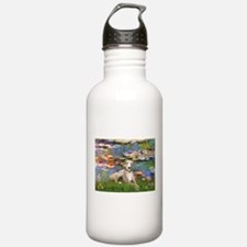 Lilies & Whippet Water Bottle