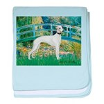 Bridge & Whippet baby blanket