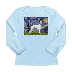 Starry Night / Whippet Long Sleeve Infant T-Shirt