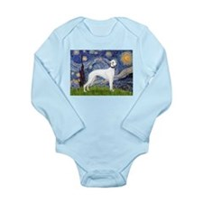 Starry Night / Whippet Long Sleeve Infant Bodysuit