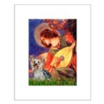 Mandolin Angel & Yorkie (T) Small Poster